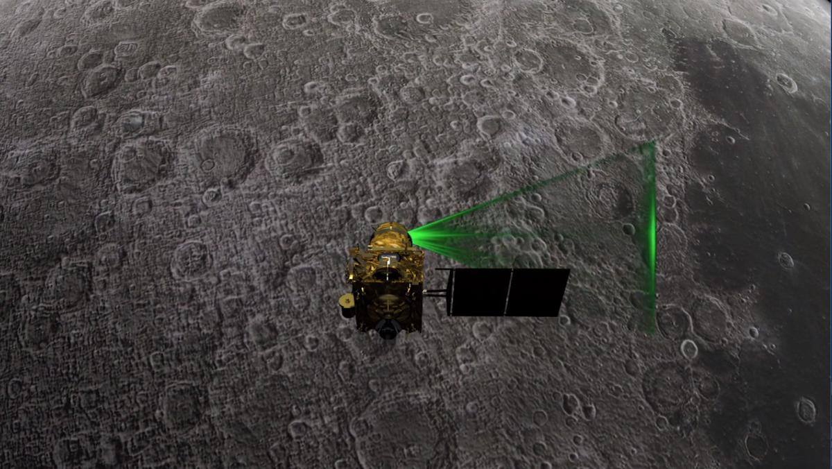 India's Chandrayaan-2 moon mission hits 1-year mark in lunar orbit