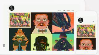 alternative portfolio sites