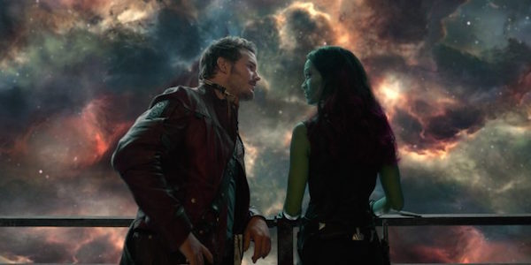 Guardians of the Galaxy Vol. 2 Star-Lord and Gamora