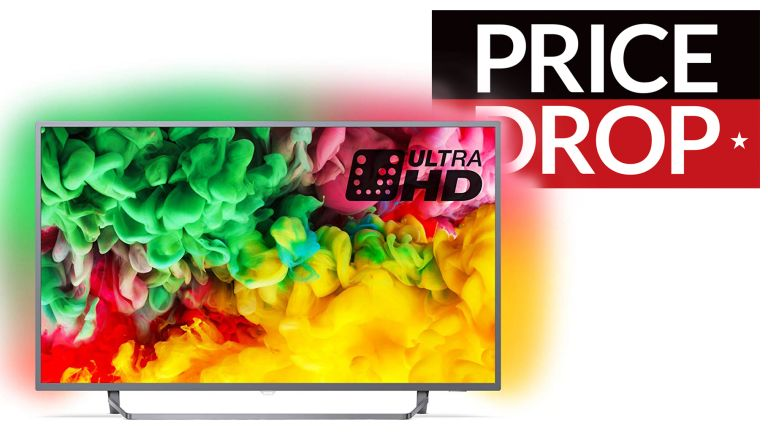 Get a £220 off a 55-inch 4K Philips Ambilight Smart TV in
