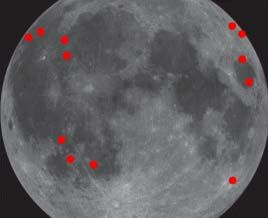 Potential Danger: Moon Hit By More Space Rocks Than Thought