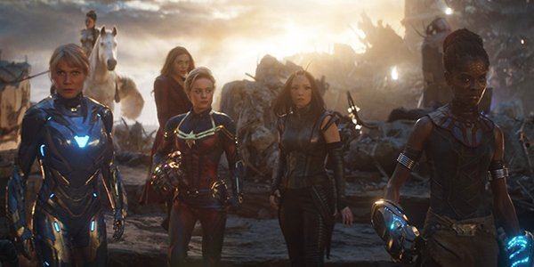 The A-Force in Avengers: Endgame