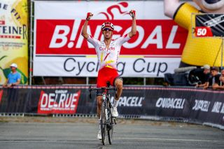 Kenneth Vanbilsen (Cofidis) wins the 2019 Dwars door het Hageland