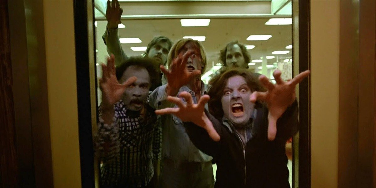 Some of the main cast of Dawn of the Dead.