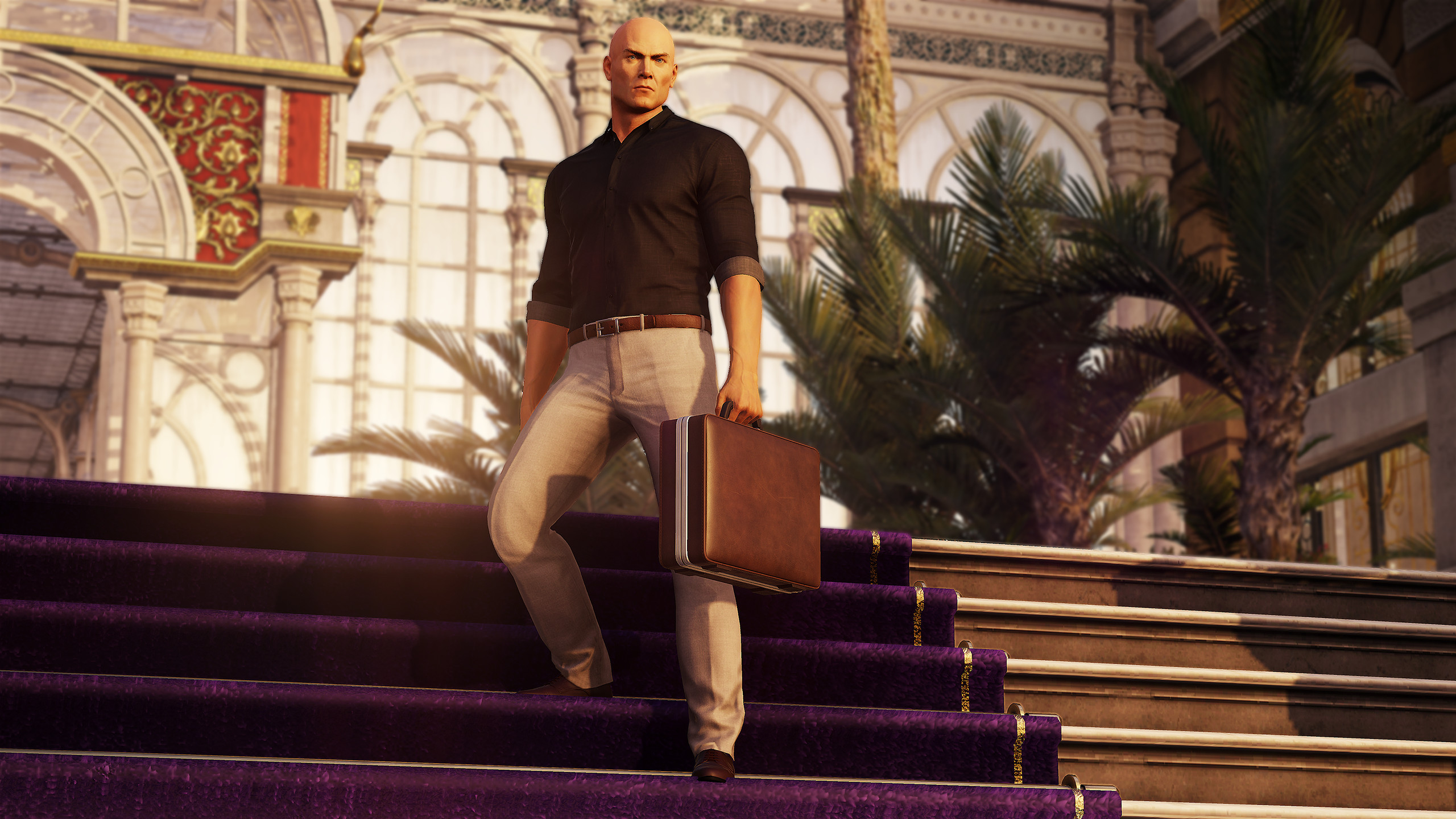 Hitman 2's incredible homing briefcase is coming back   PC Gamer