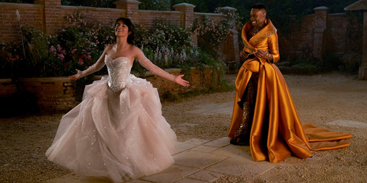 Camila Cabello and Billy Porter in Cinderella