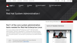 Red Hat System Administration I - Become a Linux admin with the good people at Red Hat