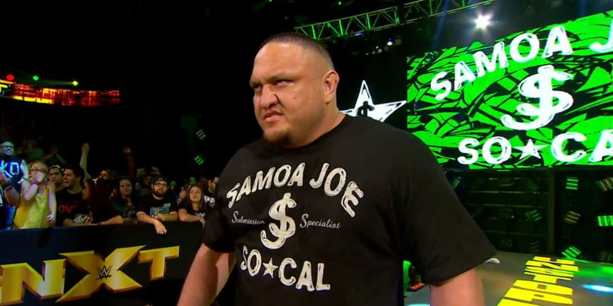 Samoa Joe on NXT: Takeover