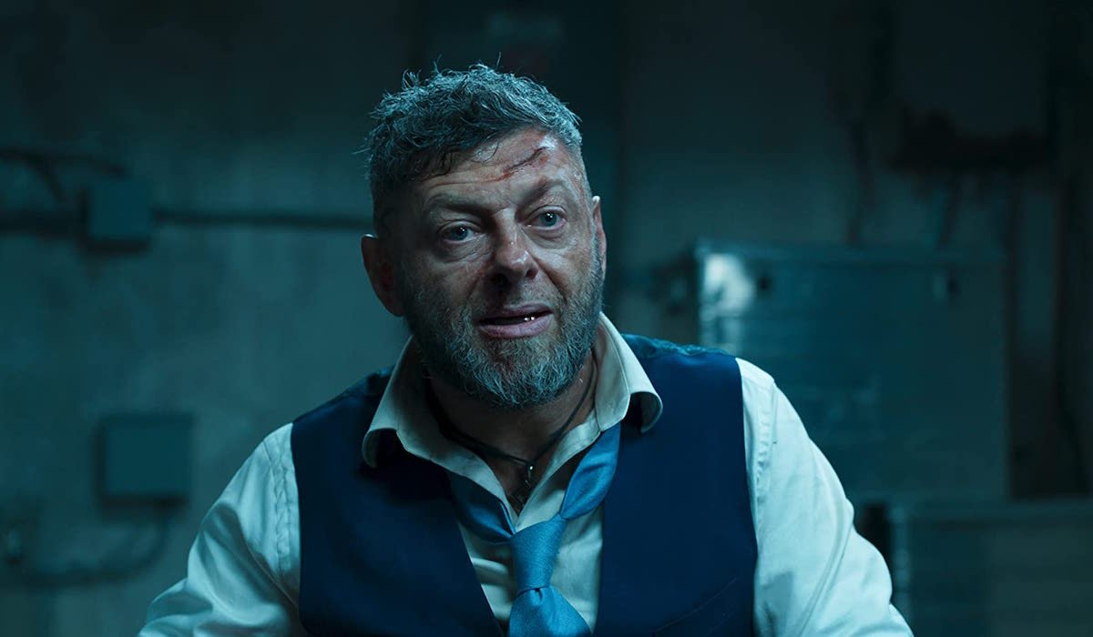 Andy Serkis as Ulysses Klaue in Black Panther