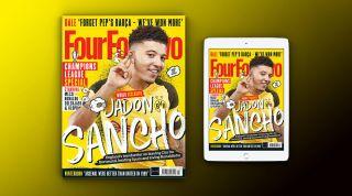 FourFourTwo March 2019 Jadon Sancho