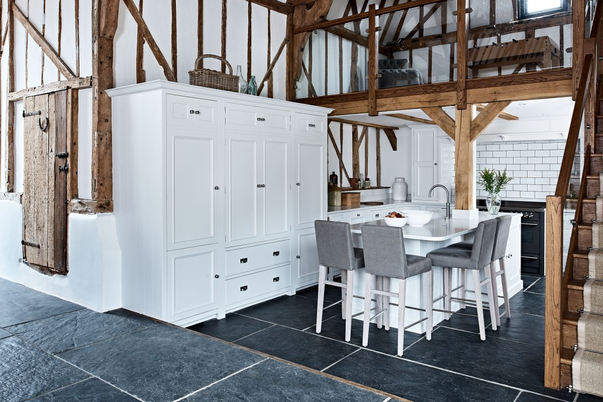 Make the most of your space with these barn conversion kitchen ideas