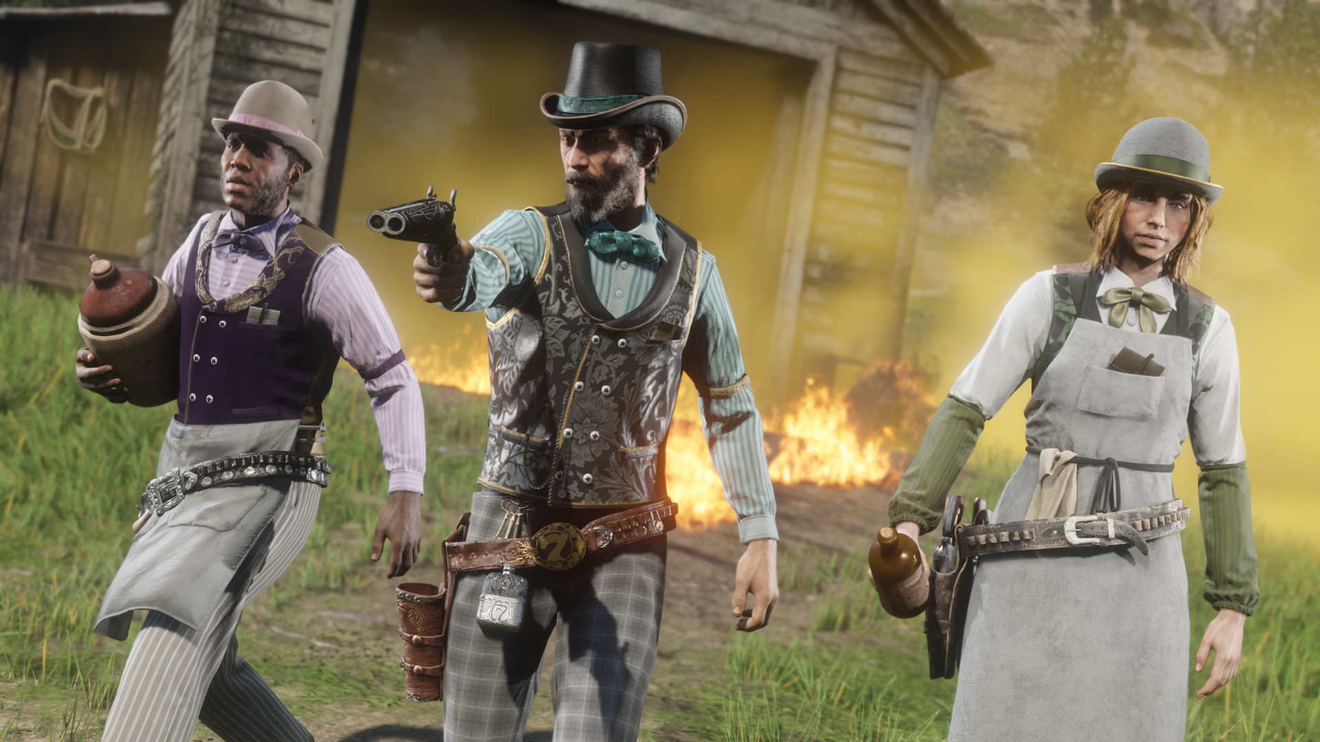 Red Dead Online S Bugs Are Making Me Bug Out Pc Gamer