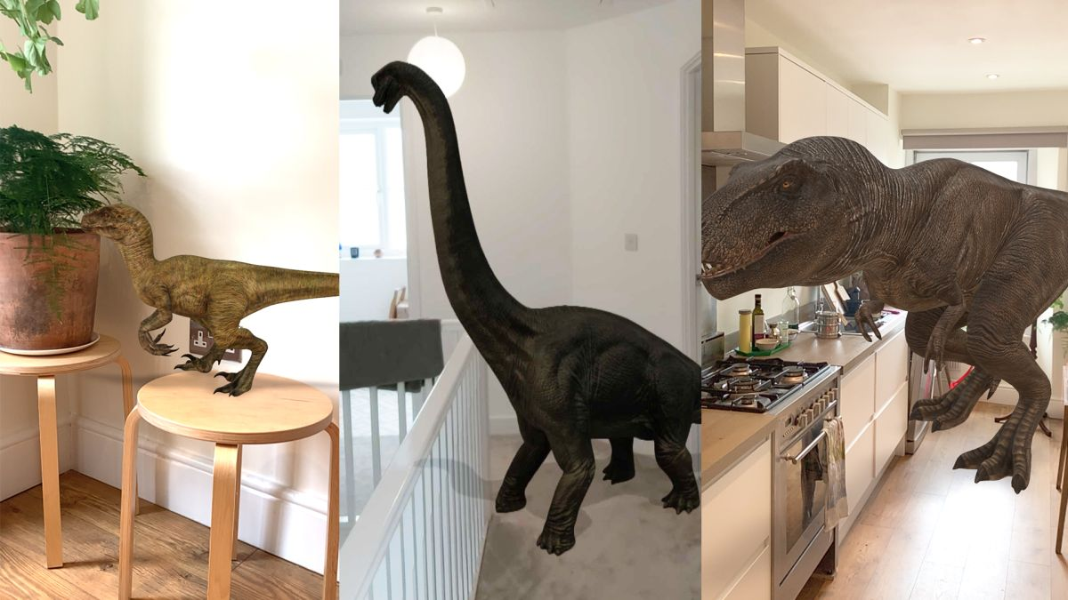 Google's AR dinosaurs are ridiculously cool