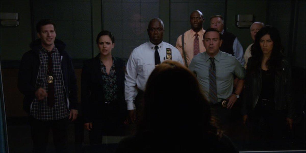 the Brooklyn Nine-Nine cast