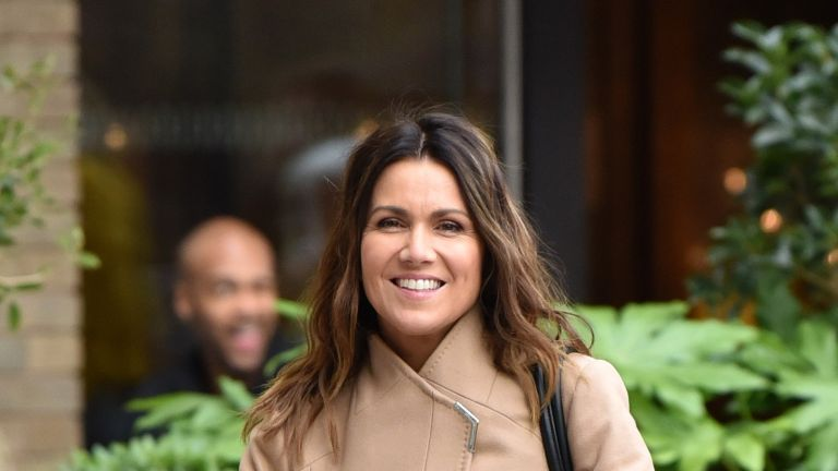 LONDON, ENGLAND - FEBRUARY 04: Susanna Reid seen at the ITV Studios on February 04, 2020 in London, England. (Photo by HGL/GC Images)