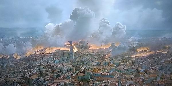 Game of Thrones Season 8 Episode 5 The Bells Drogon burning King's Landing HBO
