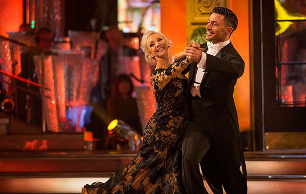 Strictly Debbie McGee and Giovanni