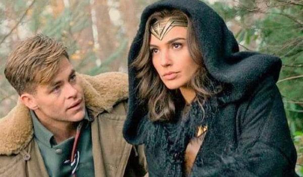 Diana Prince Steve Trevor Wonder Woman