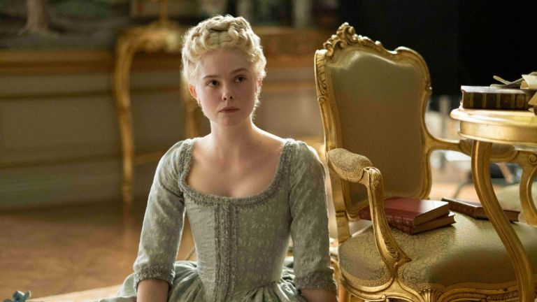The Great Elle Fanning as Catherine the Great