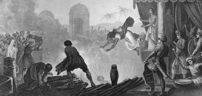 India human sacrifice.