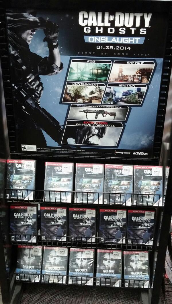Call of duty ghosts release date in Australia