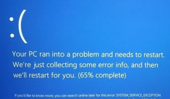 How to Fix a SYSTEM_SERVICE_EXCEPTION BSOD in Windows