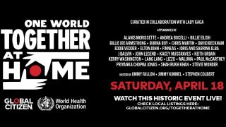 Lady Gaga, Billie Eilish and Lizzo to head-up 'One World: Together at Home' coronavirus support concert