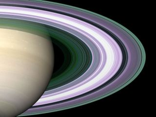 Saturn's famous rings are spectacular. The most recently discovered ring is at least 200 times the diameter of the planet and could fit one billion Earths.