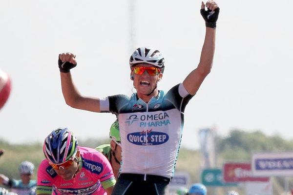 Zdenek Stybar wins, Eneco Tour, stage three