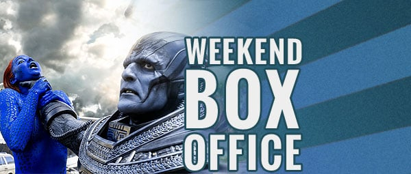 Weekend box office x men apocalypse takes a hit despite number one opening - Box office hits this weekend ...