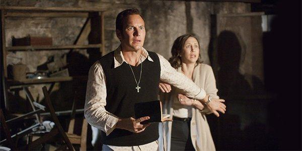The Conjuring Patrick Wilson Vera Farmiga
