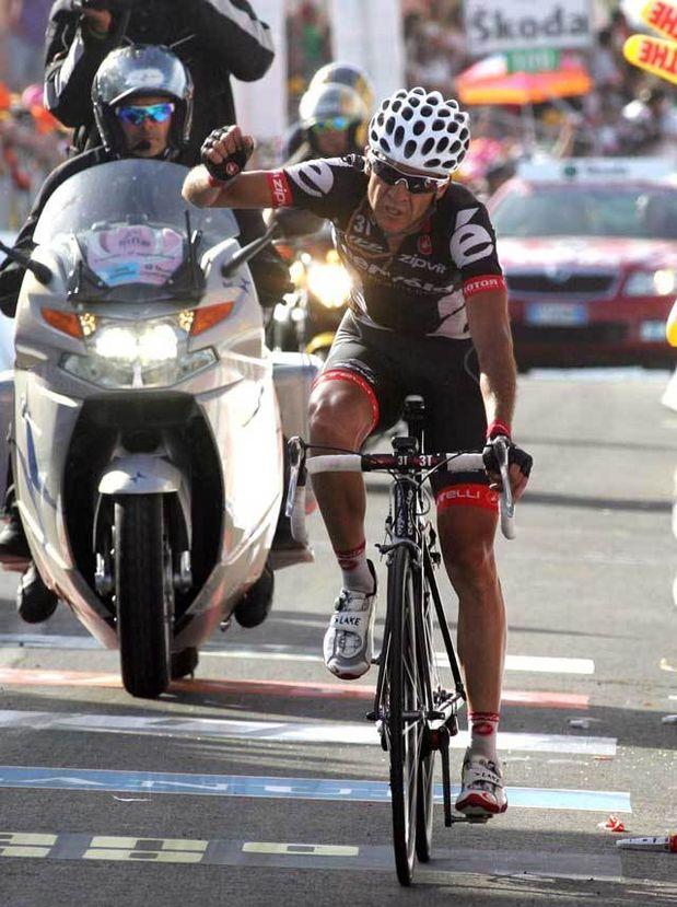 Carlos Sastre Giro 2009 stage 16