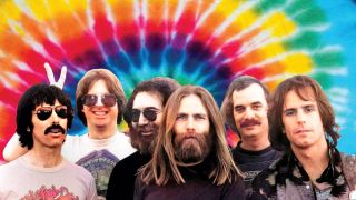 Band shot of the Grateful Dead