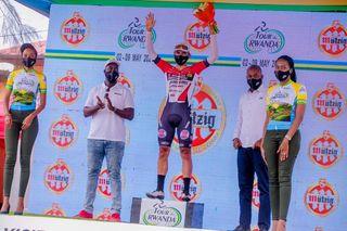 Tour du Rwanda stage 7 winner Jhonatan Restrepo