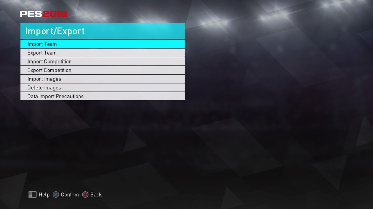 PES 2018: How to get real kits with the PS4 / PC option file