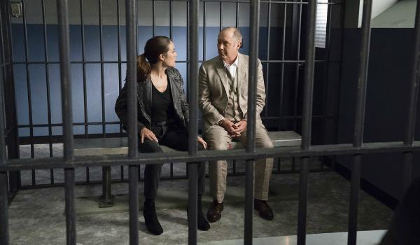 The Blacklist Liz Megan Boone Red Reddington James Spader