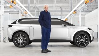 James Dyson and his canceled electric car