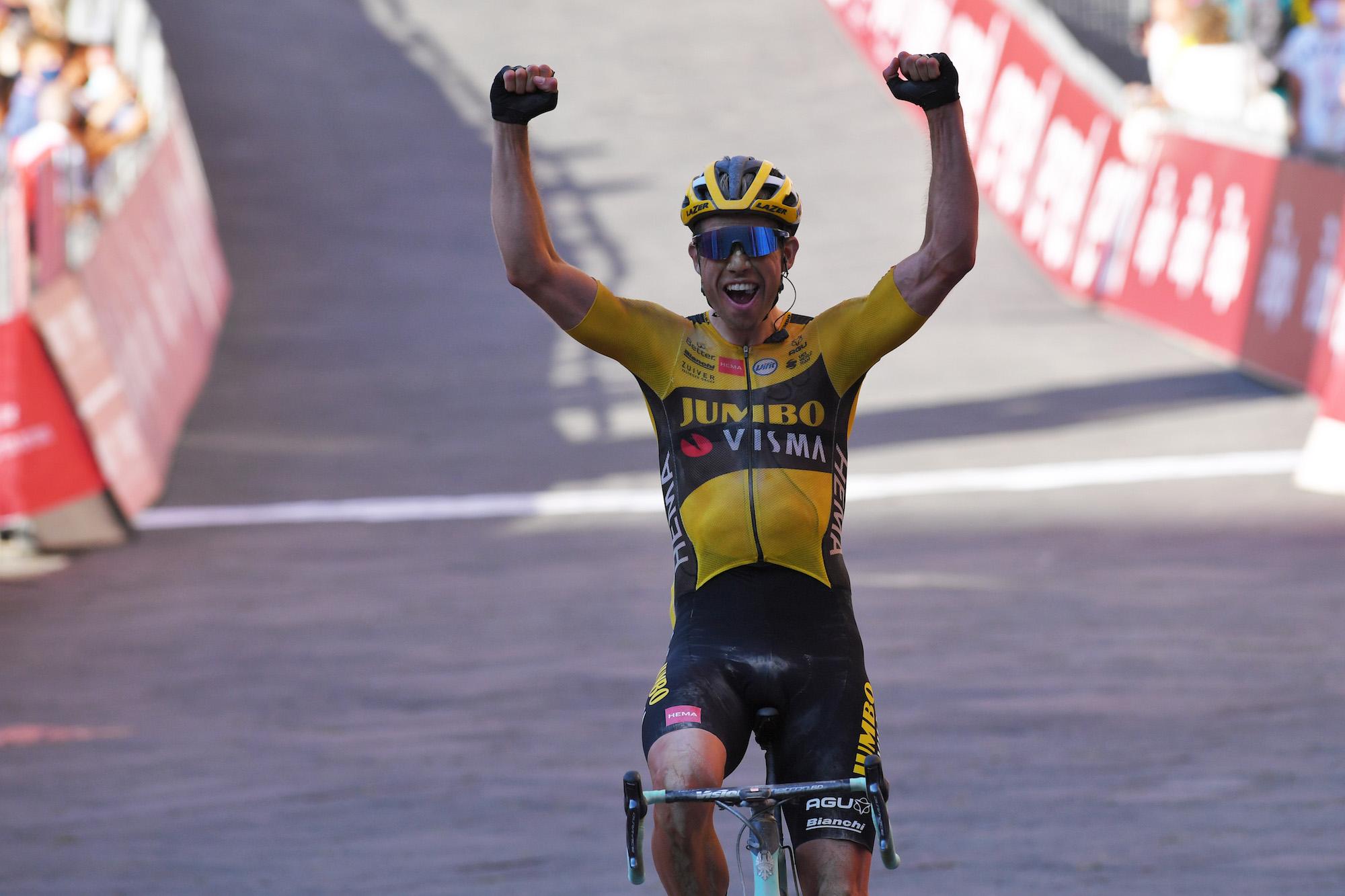 Wout van Aert beats Julian Alaphilippe to win Milan-San Remo 2020 - Cycling Weekly