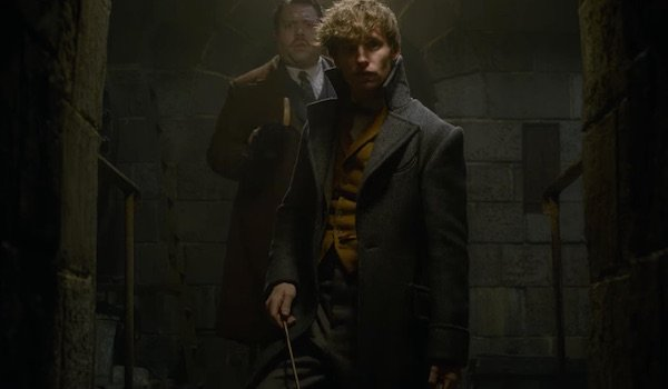 Newt and Jacob in Fantastic Beasts: The Crimes of Grindelwald