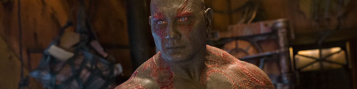 Drax The Destroyer in Guardians of the Galaxy Vol. 2