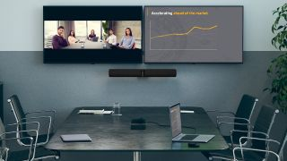 Jabra PanaCast 50 in a conference room