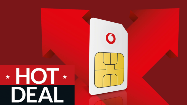 Vodafone SIM only deal triple data