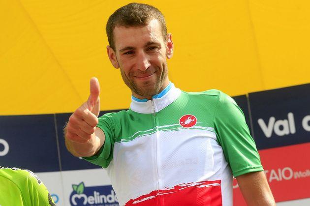 Vincenzo Nibali wins the Italian Road Race championships 2014