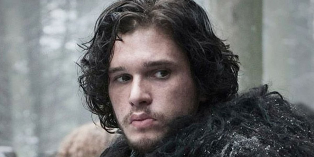 Kit Harrington as Jon Snow on Game of Thrones