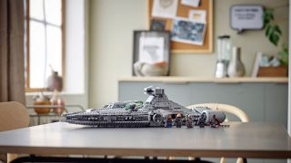 Lego's new Imperial Light Cruiser is one of three new Lego Star Wars sets unveiled at LegoCon 2021 on June 26, 2021.