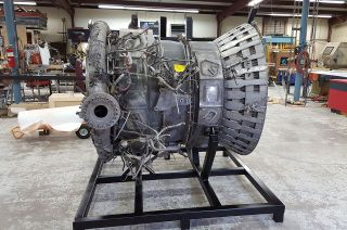 The thrust chamber from the no. 3 F-1 engine that launched Apollo 12 in November 1969 is now a part of the collection at The Museum of Flight in Seattle. The rocket engine part was among the Apollo artifacts found and recovered by Bezos Expeditions