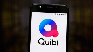 BRAZIL - 2019/07/17: In this photo illustration the Quibi logo is seen displayed on a smartphone.
