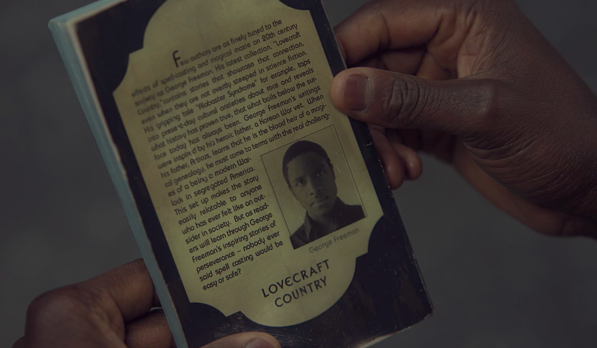 lovecraft country book in the tv show