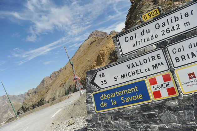 Col du Galibier in stage 15 of 2013 Giro d'Italia