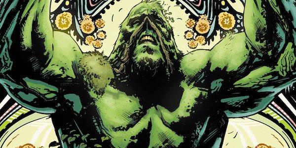 swamp thing comic book